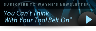 Subscribe to Wayne's Newsletter